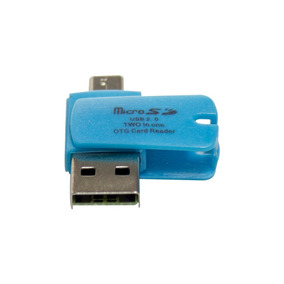 Adaptador Otg Sd Microsd Microusb Celular O Pc - Seisa Store