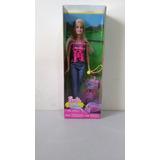 Muñeca Barbie Serie Hermanas De Campamento