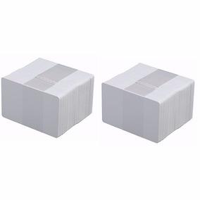 Tarjetas De Pvc Color Blanco De 30 Ml