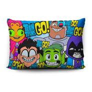 Funda De Almohada Teen Titans Go! 70x45cm Vudú Love
