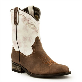 Bota West Country Feminina Western Fóssil Pinhão Alabama