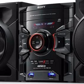 Mini System Sony Genezi Mhc-gtr555 C/ Mp3, Usb Duplo