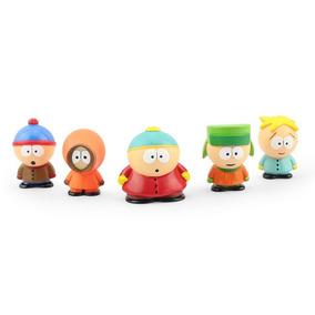Kit 5 Personagens South Park Miniaturas