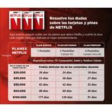 Tarjeta Netflix   Pin De Recarga Original   Pin De 20000