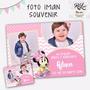 Foto Iman Souvenir Calendario 2017 10x14 Cm