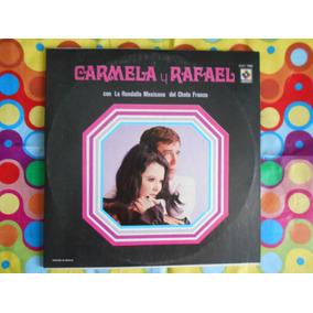 Carmela Y Rafael Lp La Rondalla Mexicana 3 Discos