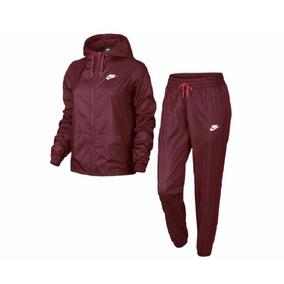 Pants Completo Nike Dama Guinda Rosa S Y Xs Original