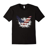 Camiseta Buzo American Eagle Patriotic Flag Flying Usa 2