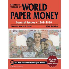 Novo! Catálogo Mund Cédulas World Paper Money 1368 - 2017