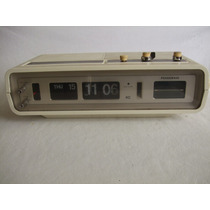 Reloj Flip Panasonic Rc-6551 Am-fm Despertador Japon Vintage