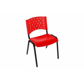 Cadeira Iso Plástica Empilhável Igrejas, Escola, Auditório