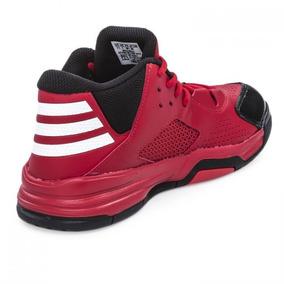 zapatillas adidas botitas rojas