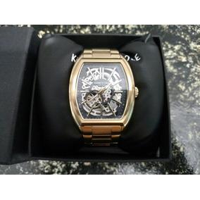 Reloj Kenneth Cole 21 Jw Mod. 10030813 Automatico Usado