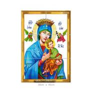 Quadro Azulejos Nossa Senhora Perpétuo Socorro