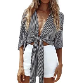 a4476c6b08 Camisa De Oficina Para Mujer - Medias al mejor precio en Mercado ...