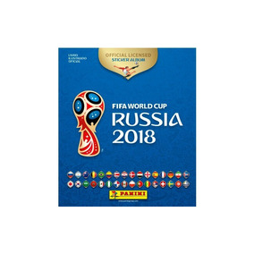 Álbum Da Copa Russia 2018 Novidade Panini Revenda Licenciada