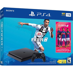 Ps4 1tb + Fifa 19 Bundle Oficial - Promovil