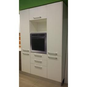 Mueble Cocina De Lujo Guardado + Portahorno Kit Para Armar