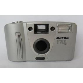 Câmera Máquina Fotográfica Antiga Mirage Titanium Se Cole