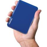 Disco Duro Externo 2tb Toshiba Canvio Connect Ii 2.5 Azul