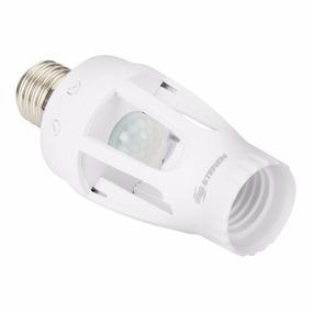 Socket + Sensor De Movimiento Y Luminosidad Steren Lam-055