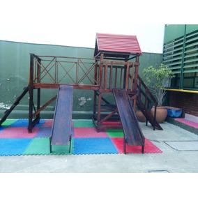 Juegos De Parques Para Jardin Infantes En Madera Casas Ninos ...