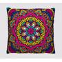 Kit 4 Almofadas Mandala - Coloridas - Decoração Para Sala