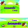 Adesivos E Rótulos Personalizados Para Festa Infantil