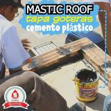 Tapa Goteras Asfáltico Mastic Roof Para Techos,plata Bandas.
