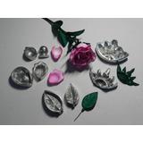 Kit Frisadores Da Rosa Mirim Em Alumínio