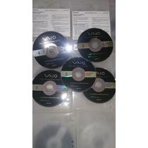 Discos De Recuperação Sony Vaio(recovery) Diversos Modelos
