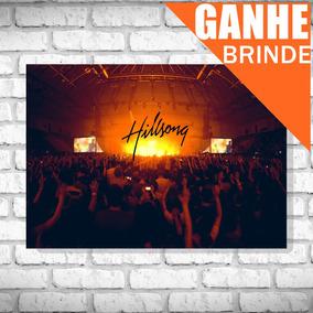 Poster Hillsong United - Tamanho Grande + Brinde