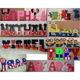 Letras Nombres Personalizados Y Figuras En Mdf