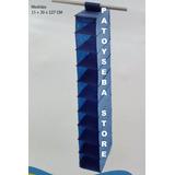 Organizador Calzados Zapatos Colgante Placard 10 Estantes