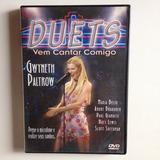 Dvd Duets Vem Cantar Comigo