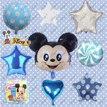 43 Globos De Mickey Mouse Bebe Fiesta Tematicas Envio Gratis