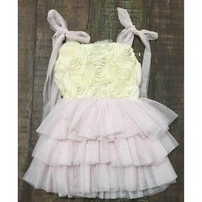 Vestido Para Bebe Niña Tutu Tul Talla 2 Años Nuevo
