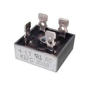 Kbpc3508   Puente Rectificador 35amp/800v Industrial