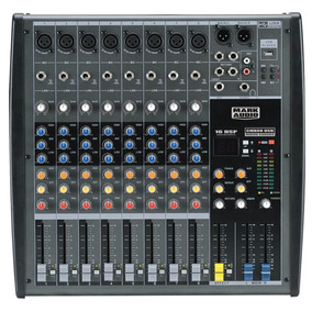 Mixer Mesa De Som 8 Canais Usb/sd Mark Audio Cmx08-usb
