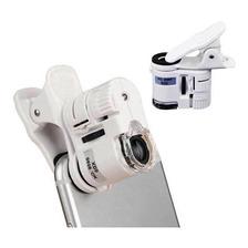Microscópio Lupa Portatil Câmera Zoom Led 60x Celular