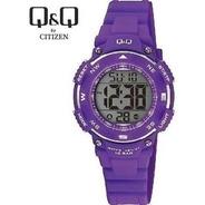 Reloj Niño Q&q By Citizen M149 Sumergible Relojesymas