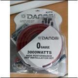Kit De Cables # 0 Audio Sonido Carro 3000w Danon