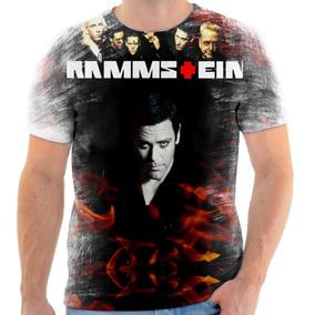Camiseta Camisa Personalizada Rammstein Banda Rock Alemã 9
