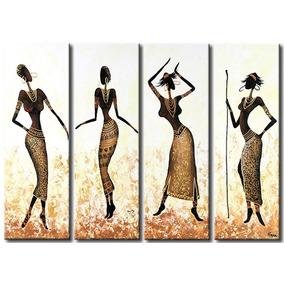 Cuadros Decoracion Africanas Living Dormitorio Sillon