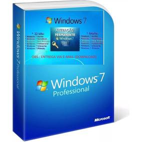 Windows7 Profissional 32/64bits Original Ativação Automatica