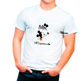 Playera Pareja Valentin 14 Febrero Novios Mickey Mi Esposa