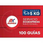 100 Guías Prepagadas Ecoexpress Hasta 5 Kg