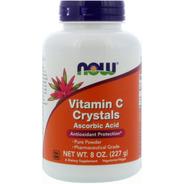 Now Vitamina C Pura Em Pó Importada Eua - 227 Gramas