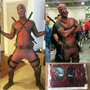Fantasia Cosplay Deadpool Com Cinto E Suporte - Frete Gratis