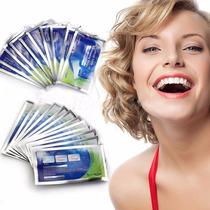 Clareador Branqueador Dental Em Fitas Clareamento Dente